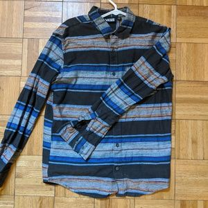Vans Flannel Button Down Shirt Men's Medium